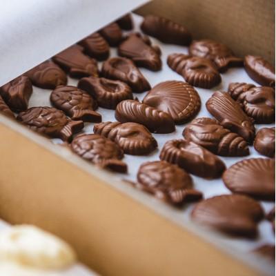 Fritures et fourrés en chocolat de la Maison Parli à Aix-en-Provence pour fêter Pâques