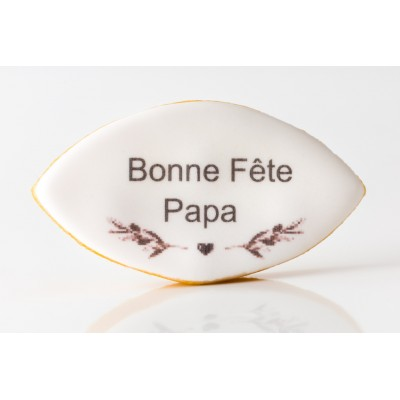 """Calisson Gourmand """"Bonne Fête Papa"""" Léonard Parli"""